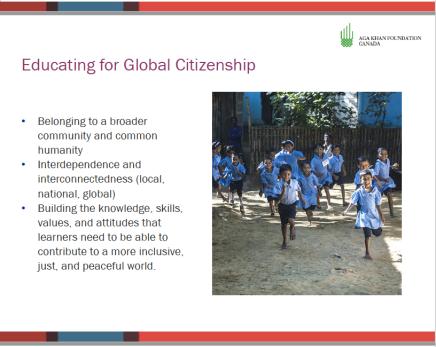 Aga Khan slide on global citizenship